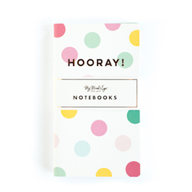 Hooray mini  - notebooks