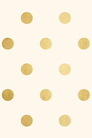 Ivory with gold foil  - wrapping paper