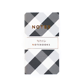 Plaid mini  - notebooks