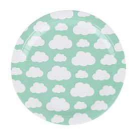 Clouds  - party plates