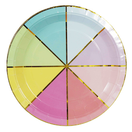Colour wheel plates