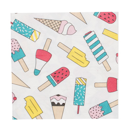 Ice cream napkins