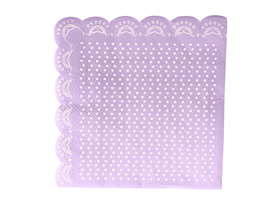 Lavender Lovely  - Lace napkins
