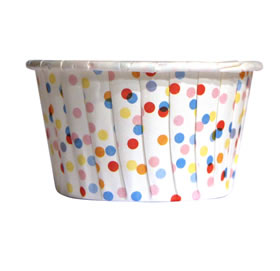 Portion Cups - Confetti dot (x20)