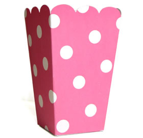35% OFF -  Candy Box - Pink polka dot x10)