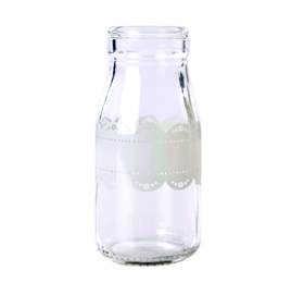 Traditional Glass - Milk doily bottle