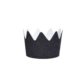 Black  - party crown