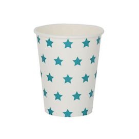 Blue stars  - party cups