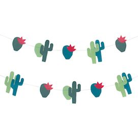 Cactus  - party garland