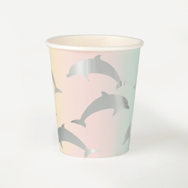 Dolphins  - party cups
