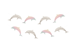 Dolphins  - party garlands
