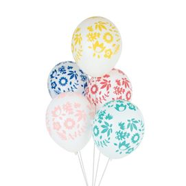 Floral  - party balloon