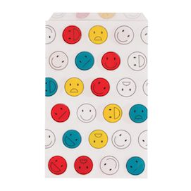 Happy Faces  - party treat bags