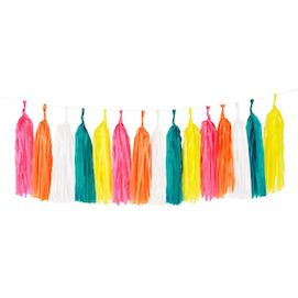Multicolour  - party tassel