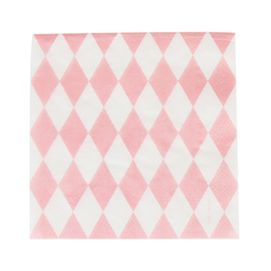 Pink diamonds  - party napkins