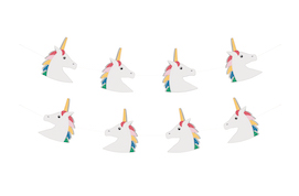 Unicorn  - party garlands MLD