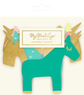 Unicorn  - party banner MME