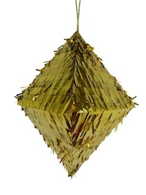 Gold diamond pinata