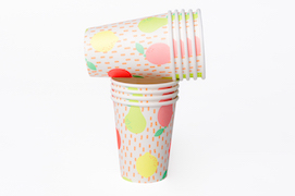 Sorbet Fruits  - paper cups